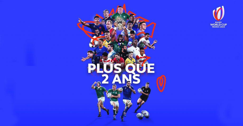 À 2 ans du coup d'envoi de la Coupe du Monde de Rugby 2023 en France